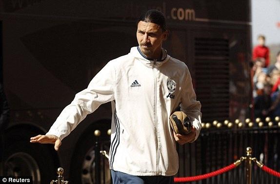 Tiền đạo Ibrahimovic