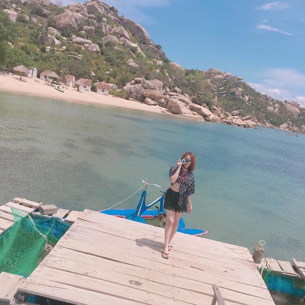 Bình Lập được mệnh danh là thiên đường sống chậm ở Khánh Hòa nhờ vẻ đẹp hoang sơ, tĩnh lặng. Ảnh: @im.thanhhuyen.24