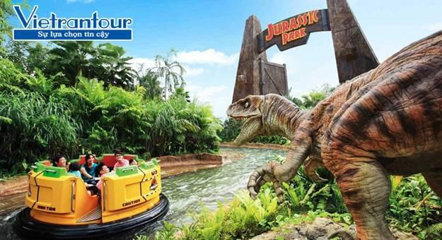 Công viên Universal Studios có đến 7 khu phim theo chủ đề thiết kế ấn tượng