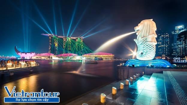 Merlion – Biểu tượng du lịch của Singapore