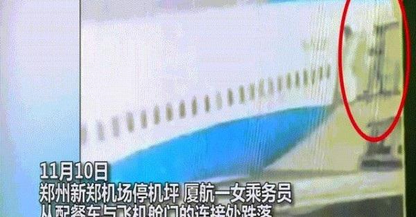 Đang làm việc, nữ tiếp viên hàng không ngã khỏi cửa máy bay - 1