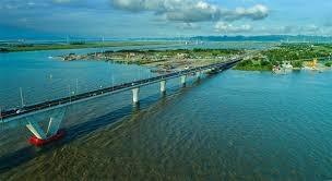 Cầu Tân Vũ - Lạch Huyện đưa vào sử dụng đã kết nối giao thông các tỉnh thành trong hành lang kinh tế (ảnh Internet)