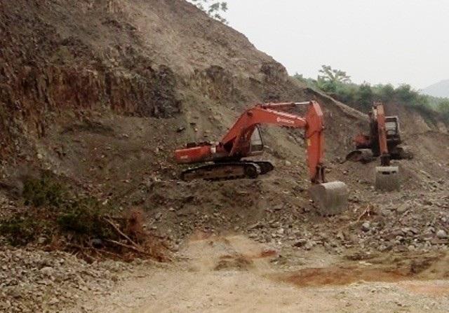 Công ty cổ phần xi măng Công Thanh – Thanh Hóa thăm dò rồi tranh thủ khai thác đá trái phép