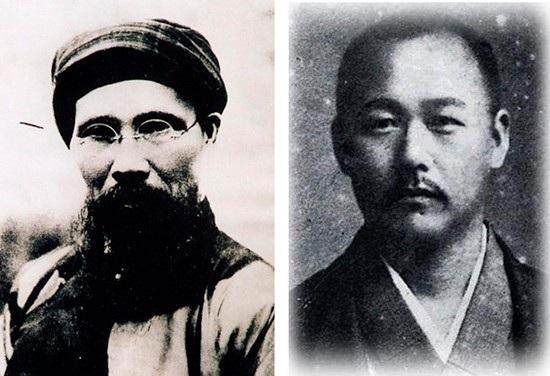 Nhà chí sỹ yêu nước Phan Bội Châu và bác sỹ Asaba Sakirato