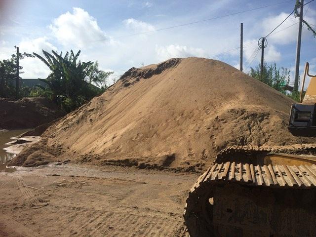 Giá cát ở Cần Thơ và các tỉnh ĐBSCL đang tăng chóng mặt