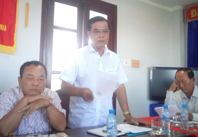 Ông Nguyễn Tấn Khương- Chánh văn phòng UBND tỉnh Bạc Liêu- cho biết đang tham mưu Thanh tra tỉnh phối hợp các cơ quan ban ngành giải quyết vụ chính quyền mượn đất của dân ở thị trấn Gành Hào, huyện Đông Hải.
