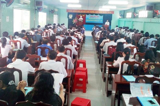 Tỉnh Bạc Liêu vừa tổng kết năm học 2016-2017 và triển khai năm học mới 2017-2018.