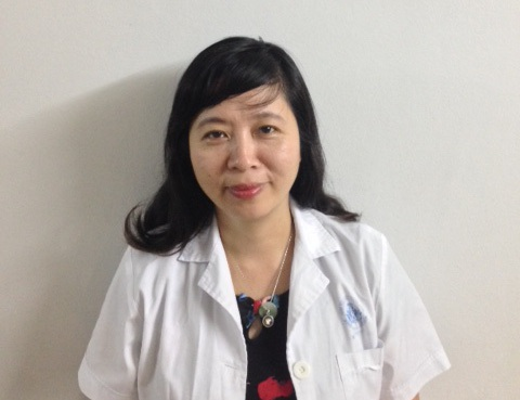 Bác sỹ Lưu Thị Mỹ Thục - Trưởng khoa dinh dưỡng Viện Nhi Trung Ương