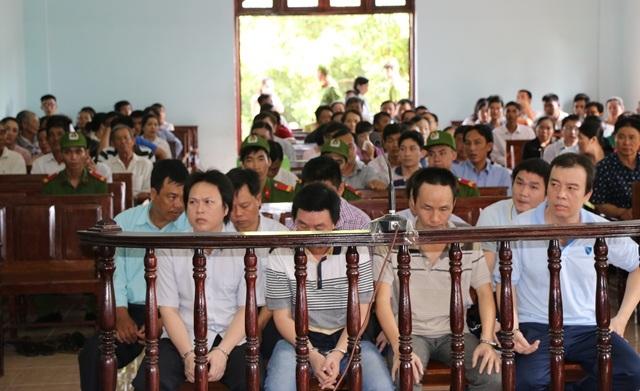 Phiên xét xử có khoảng 150 người liên quan được triệu tập tới tòa