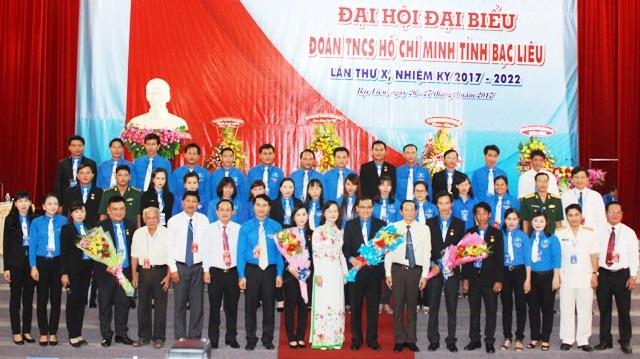 Bạc Liêu tổ chức thành công Đại hội đại biểu Đoàn TNCS Hồ Chí Minh lần thứ X, nhiệm kỳ 2017 - 2022.