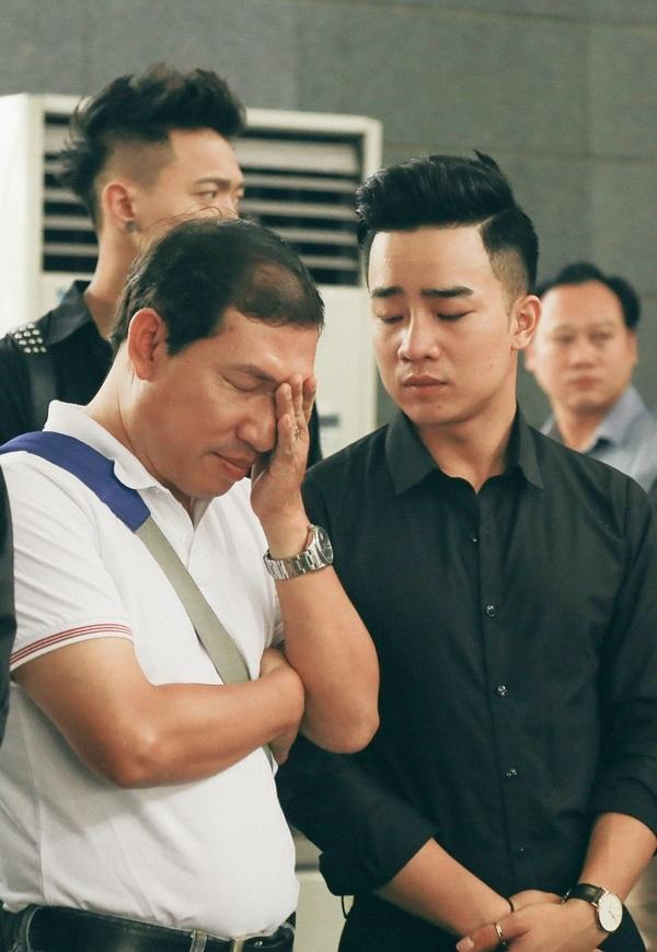 Nghệ sỹ Quang Thắng và diễn viên Duy Nam.