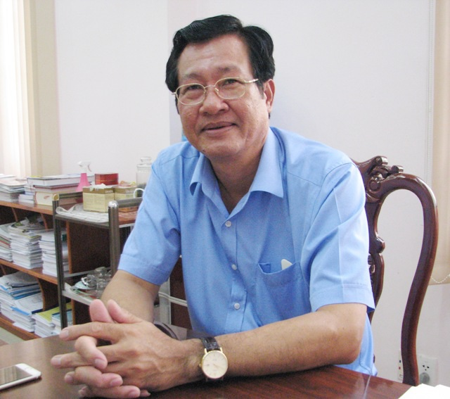Ông Đoàn Quốc Khởi- Giám đốc Sở Tài chính tỉnh Cà Mau - khẳng định: Tôi xin chịu trách nhiệm trước pháp luật nếu tham mưu sai cho UBND tỉnh về việc cho công ty tạm ứng tiền và tiếp nhận xe tặng.