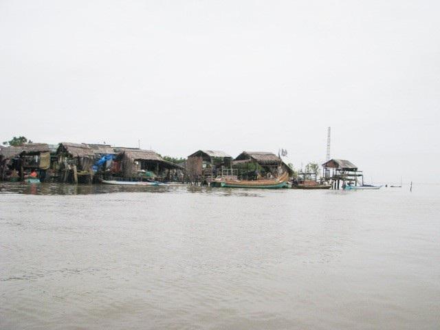Một vùng ven biển Cà Mau.