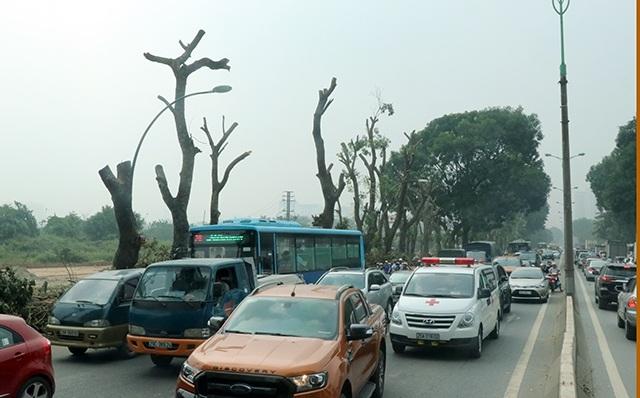 Xuống công trường, lãnh đạo TP Hà Nội yêu cầu đương vị thi công, trong quá trình đánh chuyển phải đảm bảo an toàn giao thông