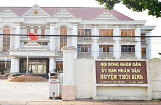 Vụ việc tranh chấp đất của bà Lê Hồng Thấm qua ít nhất 6 đời Chủ tịch huyện Thới Bình, nhưng chưa được giải quyết dứt điểm. (Ảnh: CTV)