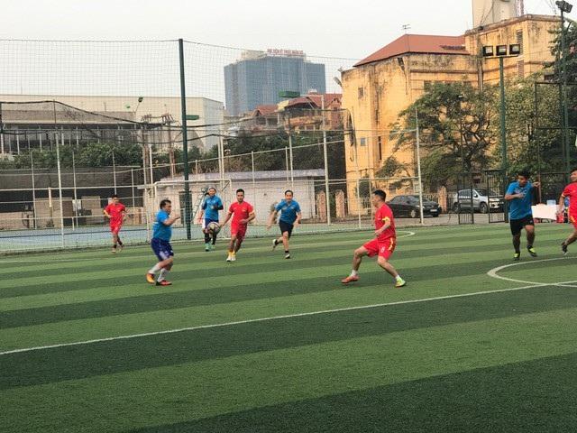 Giao lưu bóng đá Bộ Ngoại giao Việt Nam - Lào năm 2017 - 12