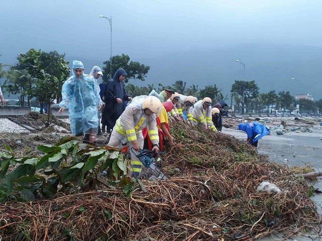 Đà Nẵng đã dốc toàn lực khắc phục hậu quả mưa bão. Chỉ trong 10 giờ đồng hồ, thành phố đã lại xanh tươi, sạch đẹp trong sự bất ngờ của đại biểu trong và ngoài nước về dự sự kiện