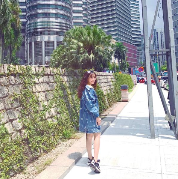 Sun HT - cô bạn gái của Phở Đặc Biệt tại Malaysia.