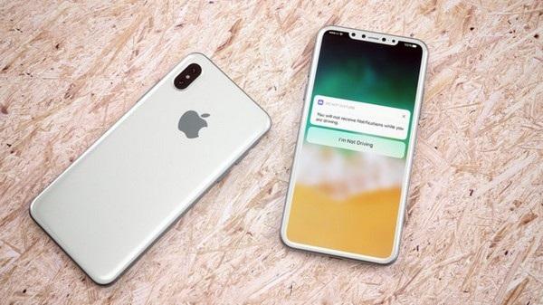 Sự thật về iPhone 8 sẽ được hé lộ vào ngày 12/9 tới đây? (Ảnh đồ họa ý tưởng về iPhone 8)