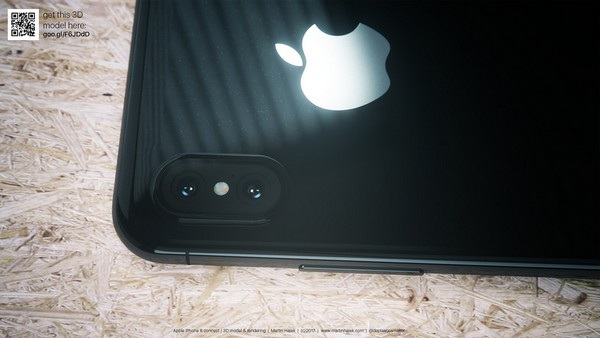 Cận cảnh bản dựng hoàn chỉnh tuyệt đẹp của iPhone 8 - 10