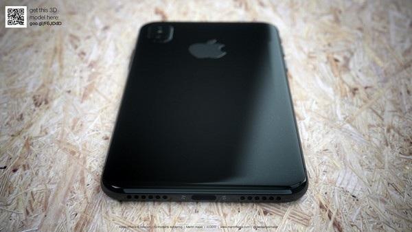 Cận cảnh bản dựng hoàn chỉnh tuyệt đẹp của iPhone 8 - 11