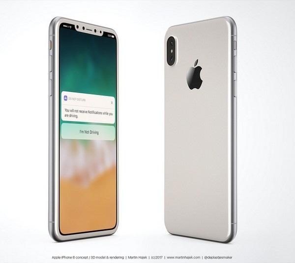 Cận cảnh bản dựng hoàn chỉnh tuyệt đẹp của iPhone 8 - 2