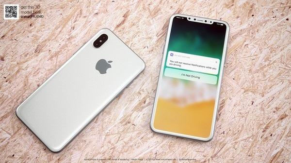 Cận cảnh bản dựng hoàn chỉnh tuyệt đẹp của iPhone 8 - 3