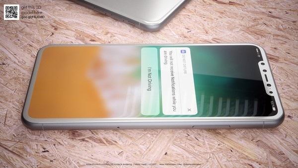 Cận cảnh bản dựng hoàn chỉnh tuyệt đẹp của iPhone 8 - 4