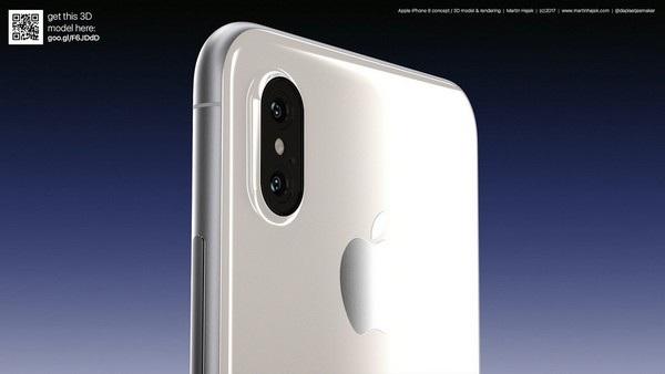 Cận cảnh bản dựng hoàn chỉnh tuyệt đẹp của iPhone 8 - 6