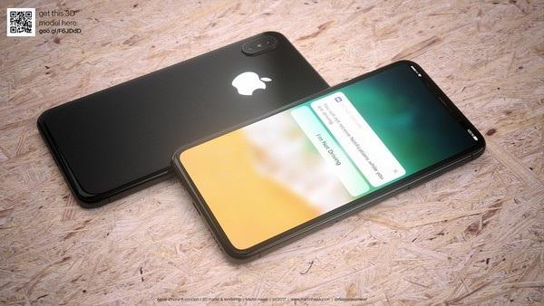 Cận cảnh bản dựng hoàn chỉnh tuyệt đẹp của iPhone 8 - 8