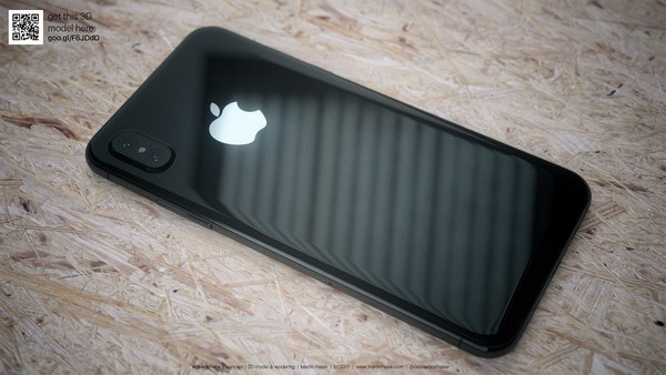 Cận cảnh bản dựng hoàn chỉnh tuyệt đẹp của iPhone 8 - 9