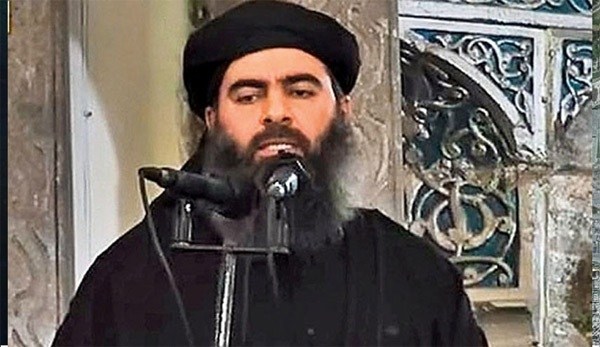 Thủ lĩnh IS Abu Bakr al-Baghdadi.