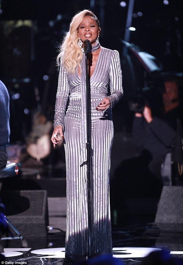Diva 46 tuổi Mary J Blige