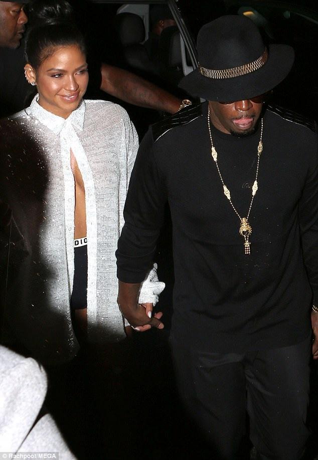 P Diddy và bạn gái Cassie