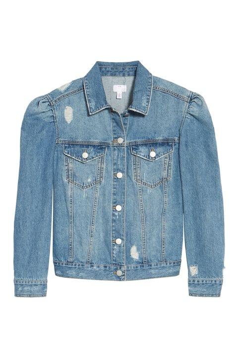 Áo Jeans vai bồng của BP