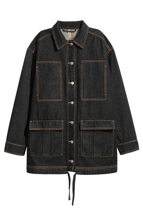 Áo Jeans dáng xuông rộng của H&M