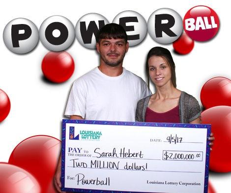 Một bà mẹ trẻ ở Louisiana có 3 đứa con đã sở hữu giải thưởng jackpots trị giá 1,4 triệu USD sau khi trừ thuế. (Nguồn: Louisiana Lottery)