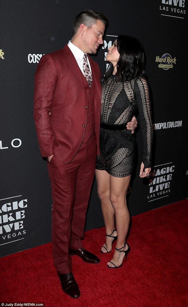 Jenna Dewan Tatum tự hào vì có chồng điển trai và thành danh tại Hollywood. Cô sẵn sàng lui về làm hậu phương vững chắc cho chồng.