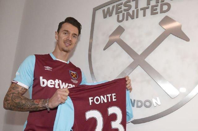 Những năm qua, Jose Fonte được nhiều CLB lớn ở Anh theo đuổi nhưng khá bất ngờ, trung vệ 33 tuổi này lại quyết định đầu quân cho West Ham. Đây là bản hợp đồng đáng chú ý nhất của West Ham trong tháng 1.