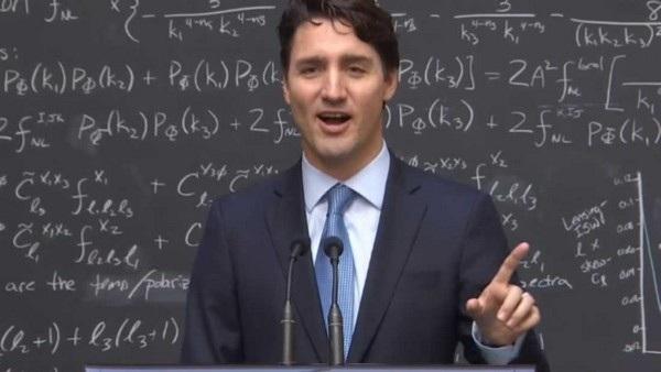 Khoảnh khắc Thủ tướng Justin Trudeau giải thích về máy tính lượng tử khiến nhiều người bất ngờ