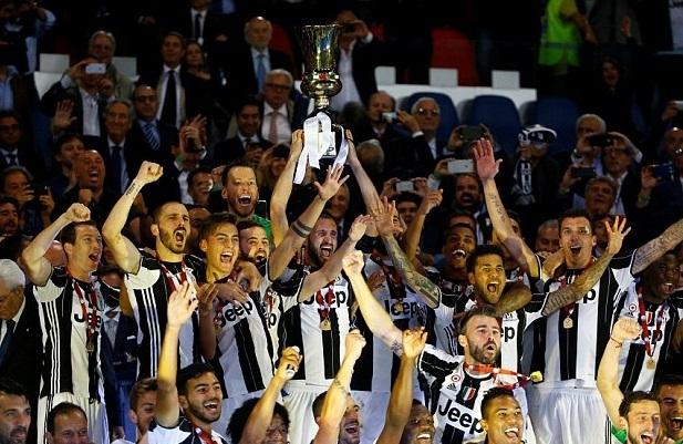 Juventus đăng quang chức vô địch Coppa Italia