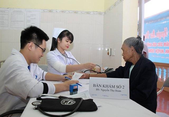 Kể quả thống kê cho thấy cứ 100 người trưởng thành đến kiểm tra thì có 65 người bị cao huyết áp