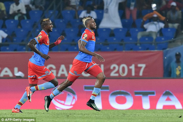 Kabananga ghi bàn duy nhất giúp Congo vượt qua Ma rốc