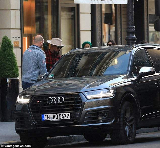Jamie Foxx bị bắt gặp tại khách sạn Park Hyatt Vendome