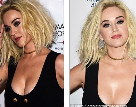 Thật ngạc nhiên khi thấy Katy dự tiệc mà không có bạn trai Orlando Bloom đi cùng.