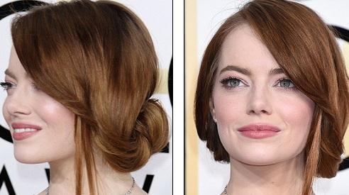 Emma Stone điệu đà như công chúa với mái tóc bồng bềnh nữ tính