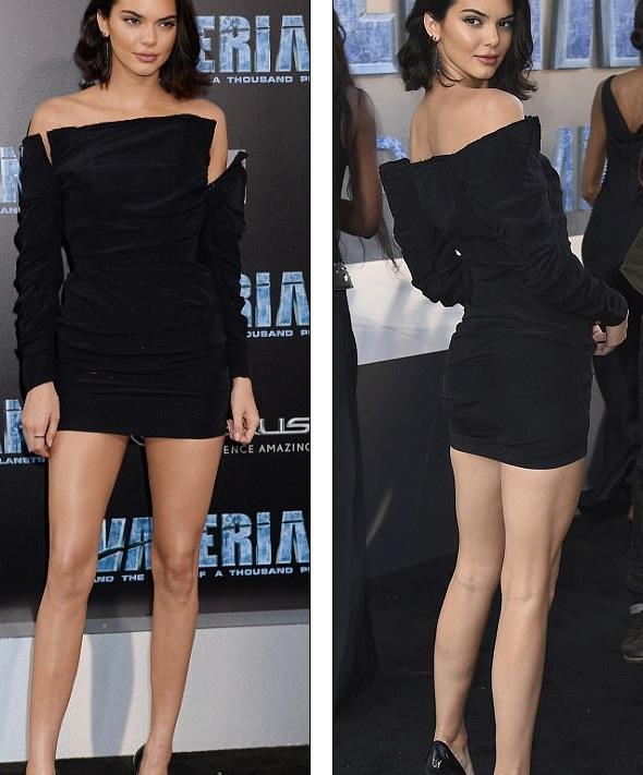 Em cô Kim khoe chân thon dài trong bộ váy ngắn tinh tế và thanh lịch
