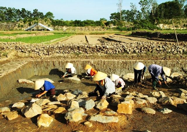 Công tác khảo cổ học nằm trong quy hoạch tổng thể bảo tồn, phát huy giá trị di tích Thành nhà Hồ và vùng phụ cận