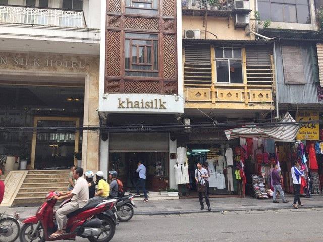 Doanh thu Khaisilk tăng đều trong các năm gần đây.