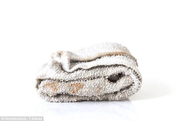 Khăn tắm có thể là thiên đường cho các mầm bệnh
